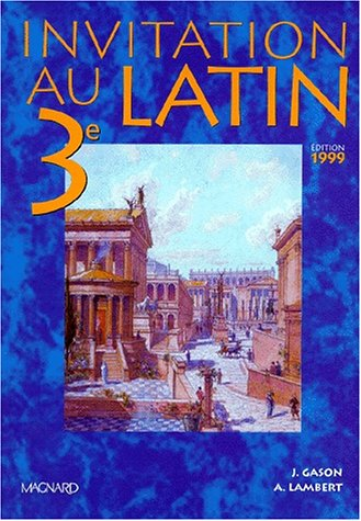 Invitation au latin 3e