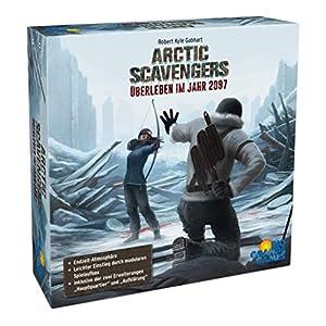 Rio Grande Games 22501483 Arctic Scavengers - Juego de Mesa (Contenido en alemán)