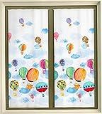 TENDE CAMERETTA BAMBINI - COPPIA TENDE PER PORTAFINESTRA E FINESTRA CONFEZIONATE (finestra 60x150 cm)