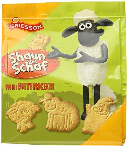 Griesson Shaun das Schaf Mini Butterkekse, 125 g
