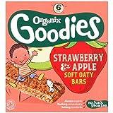 Organix Goodies Fraises Bio & Pomme Douce Barres De 6 X 30G Oaty