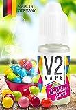 V2 Vape E-Liquid Bubblegum / Kaugummi - Luxury Liquid für E-Zigarette und E-Shisha Made in Germany aus natürlichen Zutaten 10ml 0mg nikotinfrei