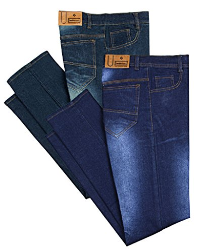 London Looks Men Slim Fit Multi Color Jeans (Combo Of 2) (32)