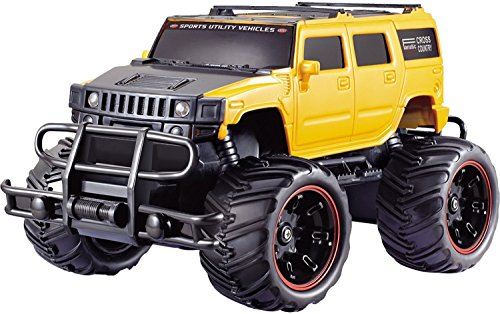 Toyshine Off Road Passion 1:20 Hummer Monster Racing Car, Yellow