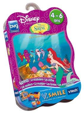 Vtech-Cartouche de Spiel v. Smile die kleine Meerjungfrau: Ariel Wird eine Prinzessin-92125
