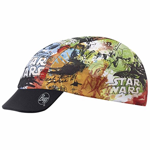 Original Buff Star Wars Story Multi Grey - Cap Coolmax Licenses para niños de 3-9 años, diseño estampado