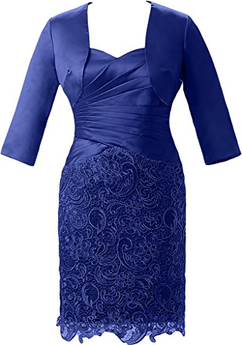 Victory Bridal - Robe - Crayon - Femme bleu roi