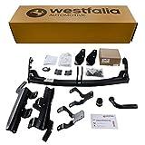 Westfalia Starre Anhängerkupplung für RAV4 (BJ ab 02/13) im Set mit 13-poligem fahrzeugspezifischen Elektrosatz