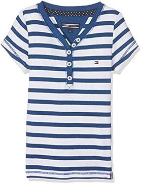 Tommy Hilfiger Mädchen T-Shirt Ame Girls Henley S/S