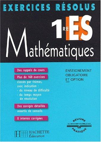 Mathématiques 1e ES