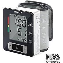 Tensiómetro de Muñeca Tensiometro Muneca Tensiometro Digital HYLOGY Monitor de la Muñeca Medidor Eléctrico Monitor de