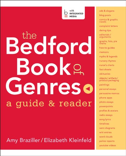 Pdf Download The Bedford Book Of Genres A Guide Reader By University Amy Braziller Read Online Full Pdf Books