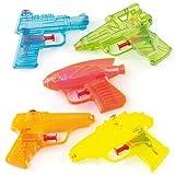 Baker Ross Pistolets à eau (Paquet de 8) - Mini jouets pour pochette surprises des enfants