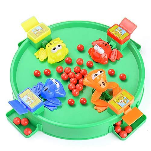giocattoli educativi per bambini giocattoli educativi per bambini alimentazione di piccole rane mangiare fagioli rane perle afferranti giochi da tavolo interattivi genitore-figlio il miglior regalo gi