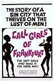 Call Girls of Frankfurt Plakat Movie Poster (11 x 17 Inches - 28cm x 44cm) (1966)