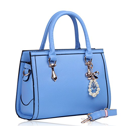FZHLY 2017 Nuovo E Modo Europeo Americano Signore Spalla Messenger Bag,Pink Blue