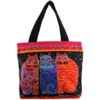 Laurel Burch-Borsa Mini con motivo di Laurel Burch, gatti ""