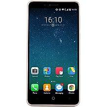"""Leagoo Elite 5 Lite (KIICAA POWER) - 5,0"""" 3G Smartphone, Android 7.0 Quad Core 2GB+16GB, Fotocamere Doppie Posteriori 5MP+8MP, 4000mAh, Dual SIM, ID di Impronte Digitali, Telefono Cellulari Sbloccato, Oro"""
