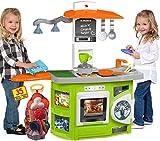 JT-Lizenzen Molto Spielküche Kinderküche Kitchen mit 35-tlg. mit Zubehör und Licht