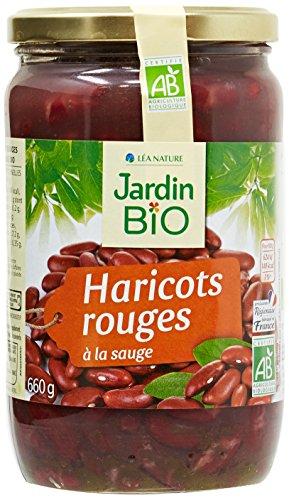 Jardin Bio Haricots Rouges 660 g - Lot de 3