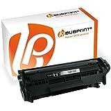 Toner Black kompatibel für HP Laserjet Q2612A