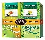 #5: TE-A-ME Natural Tulsi Green Tea-25 Tea Bags +Honey Lemon Green Tea ,25 Tea Bags FREE