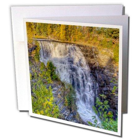 3dRose Gc_206765_1 Grußkarten, Motiv: Kanada Ontario, Thunder Bay Kakabeka Falls Park, 15,2 x 15,2 cm, 6 Stück
