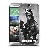 Offizielle AMC The Walking Dead Daryl Doppelte Aussetzung Soft Gel Hülle für HTC One M8 / M8 Dual SIM