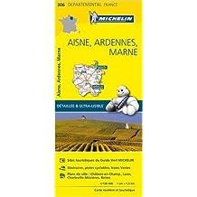 Carte Aisne, Ardennes, Marne Michelin de Collectif Michelin ( 1 avril 2015 )