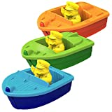 Green Toys Sport Boats (Set of 3)