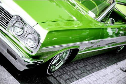 impresion-en-madera-30-x-20-cm-american-car-chevrolet-impala-1964-lowrider-de-pixelliebe
