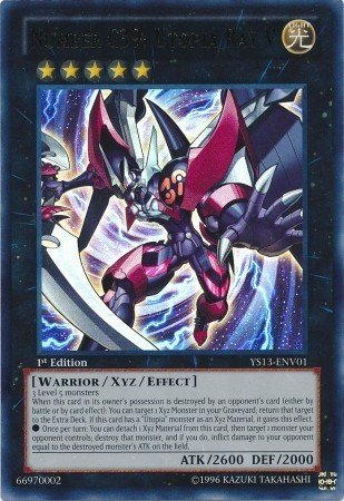 Yu-Gi-Oh! - Number C39: Utopia Ray V (YS13-ENV01) - Super Starter Power-Up Pack - 1st Edition - Ultra Rare by Yu-Gi-Oh!