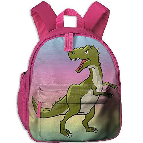 Kindergarten Boys Girls Backpack Fierce Cartoon Dinosaur Dinosaur School Bag