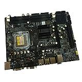 IPOTCH Desktop Placa Base DDR2 533/667 945-775 Tarjeta de Control USB/SATA/IDE/COM para PC