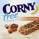 CORNY free Nuss-Nougat, Müsliriegel OHNE Zuckerzusatz,...