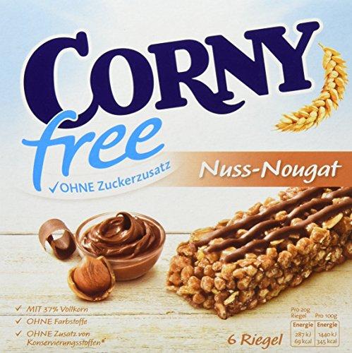 Preisvergleich Produktbild Corny free Nuss-Nougat 6er, 10er Pack (10 x 120 g)
