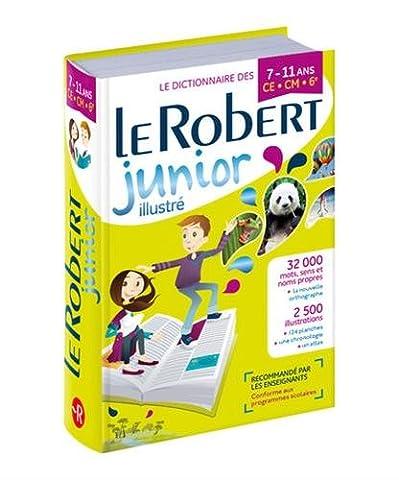 Dictionnaire Le Robert Junior Illustré CE/CM/6e 7-11