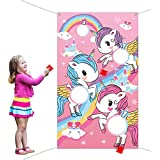 Unicorn Toss Game with 3 Pieces Nylon Bean Bag for Children Adult Unicorn Theme Party Decorations and Suppliers