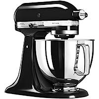 Kitchenaid 5KSM125EOB Artisan Robot pâtissier Noir Onyx 4.8 L 300 W