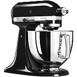 KitchenAid 5KSM125EOB - Robot de cocina, tazón de 4 L, 300 W, color negro