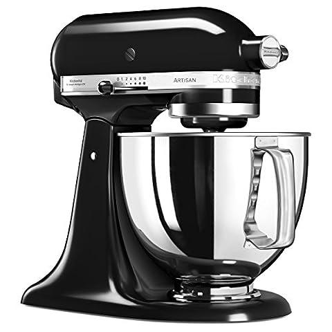Kitchen Aid Artisan - Kitchenaid 5KSM125EOB Artisan Robot pâtissier Noir Onyx
