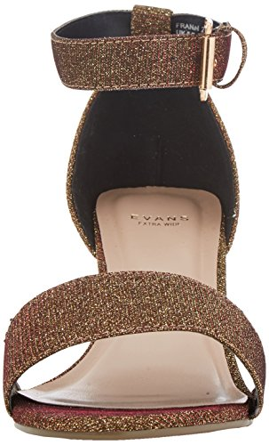 Evans Franzi, Chaussures À Bride De Cheville Femme Or (or)