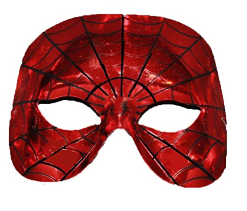 The Dragons Den Superheldenmaske, für Kostüme Spiderman Mask (Erwachsene Spiderman Maske)