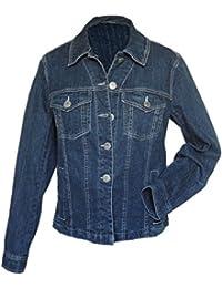 adonia mode Damen-Jeansjacke Stretch Jacke Blue Denim Gr.42 - 48
