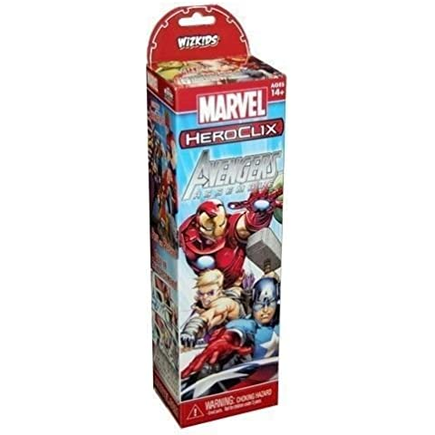 Heroclix Marvel Avengers Assemble Booster Pack (5 Figures)