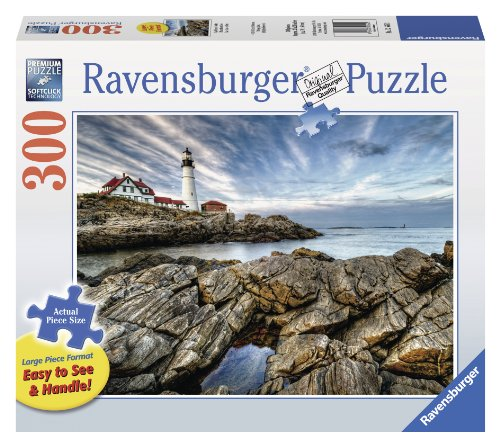 Preisvergleich Produktbild Ravensburger 13565 - Felsen am Leuchturm (XXL-Teile) - Puzzle 300 Teile
