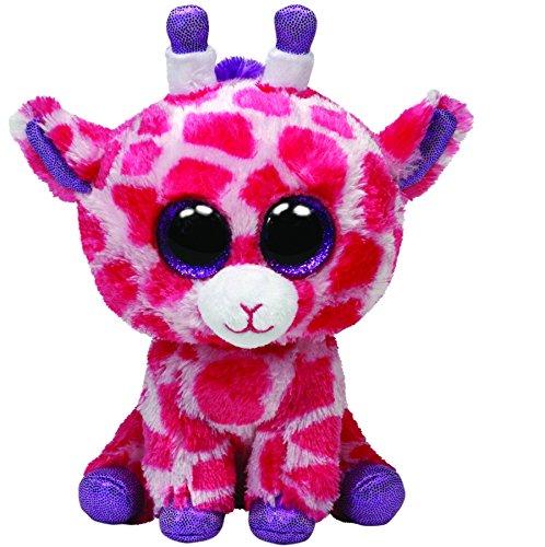"""Beanie Boo Giraffe - Twigs - Pink - 24cm 9"""""""