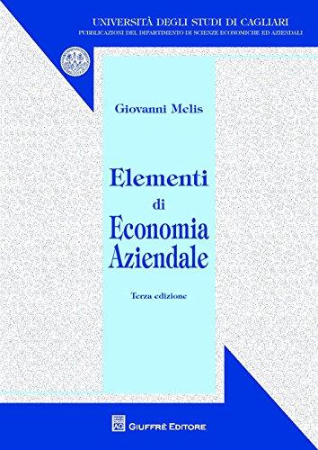 Elementi di economia aziendale di Giovanni Melis