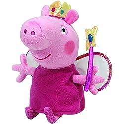Peppa Pig - Peluche de Peppa Pig vestida de hada (TY)