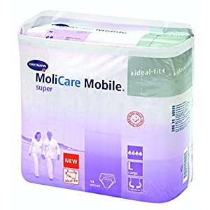 MoliCare Mobile super – Gr. Large – (56 Stück).